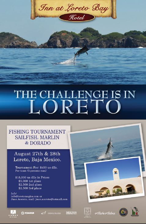 The Challenge is in Loreto: Fishing Tournament