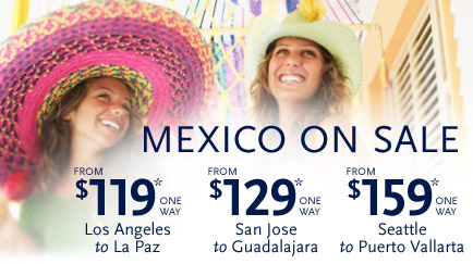 Mexico on Sale - Alaska Airlines