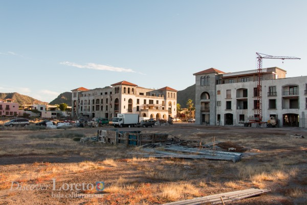 Loreto Bay Condo Buildings Construction